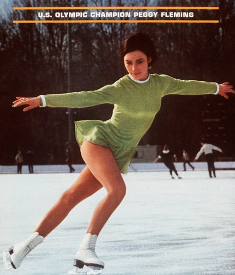 Champion,Peggy Fleming,Figure Skating,london 2012,1968 Winter Olympics, inspirational pictures, motivational quotes, sports