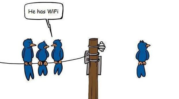Wireless, Internet Funny Picture, Joke, Humor, Wi-Fi, Hilarious, Quotes