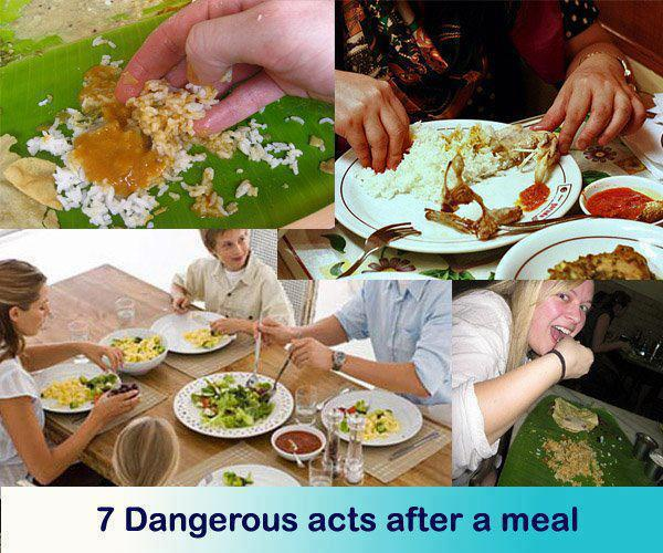healthy living,7 Dangerous acts after a meal,Health Inspirations – Tips – Inspirational Quotes, Pictures and Motivational Thought,smoking, ,