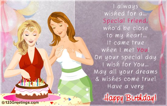 friend birth day Wishes - Inspirational Quotes, Motivational Pictures and Wonderful Thoughts