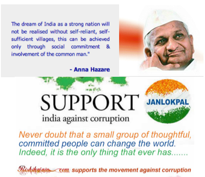 India Against corruption, Anna Hazare, Arvind Kejriwal, Kiran Bedi, Congress Government, Lokpal, Jan Lokpal,