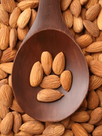 SKIN CARE -AGING, health benefit of ALMONDS