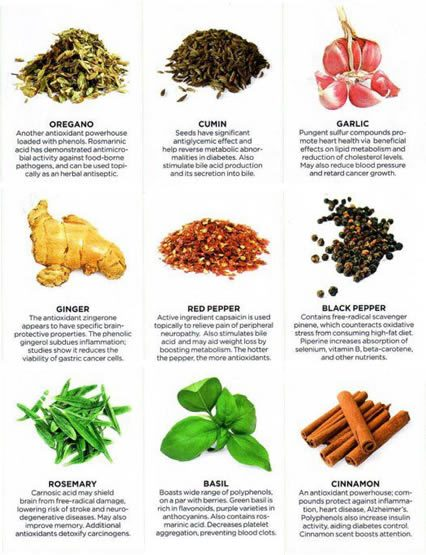 Health tips ,9 Powerful Healing Herbs and Spices,healthy living,home made remedy, Health Inspirations ,Tips ,picture,