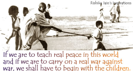 independence day quote,peace,freedom ,teach Mahatma Gandhi ,Children Quotes – Inspirational Quotes, Pictures and Motivational Thoughts