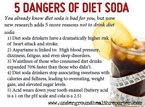 Dangers o f Diet Soda ;Health tips, heart attack,high blood pressure,healthy food,living,pepsi,coca cola,