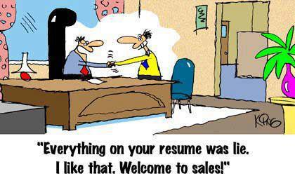 Wife resume joke