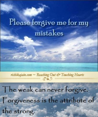 Forgive And Be At Peace ~ Forgiveness Quotesu2026Uttam Kshama