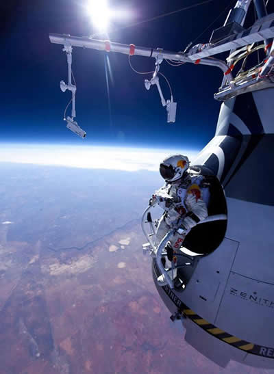 Felix Baumgartner skydive, Words,quotes,jump,Life Purpose Quotes, courage, world record, skydive, red bull stratos, Inspirational Quotes, Pictures and Motivational Thoughts