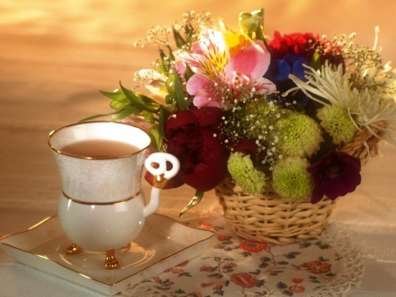 Good Morning,wishes,greetings,sms,Inspirational Quotes,coffee,tea,flowers