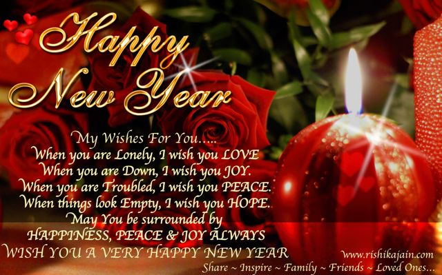 Happy New Year Wishes, Wallpapers, Greetings, Messages, SMS, Quotes, Inspirational Pictures, Motivational Thoughts