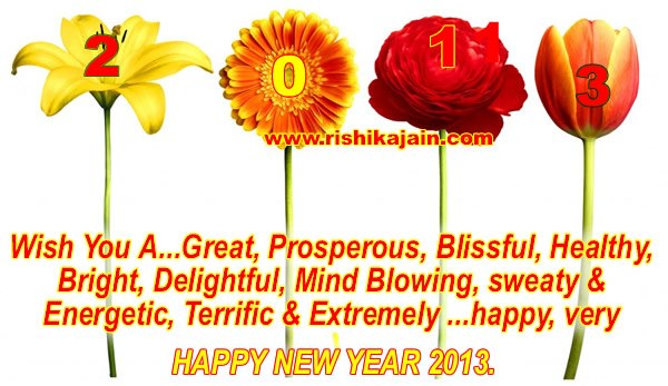 Wish you a Very Happy New Year 2013 | Inspirational Quotes ...