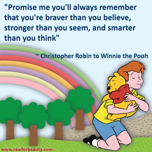 winnie the pooh,Positive Thinking ,promise,Inspirational Quotes, Pictures and Motivational Thoughts