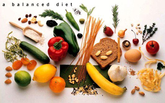 A balanced Diet ,nutrients,healthy food,
