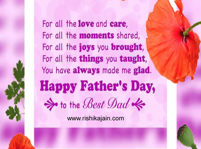 TOP FAMOUS HAPPY FATHER'S DAY Cards,Messages,Quotes,Status,Speech