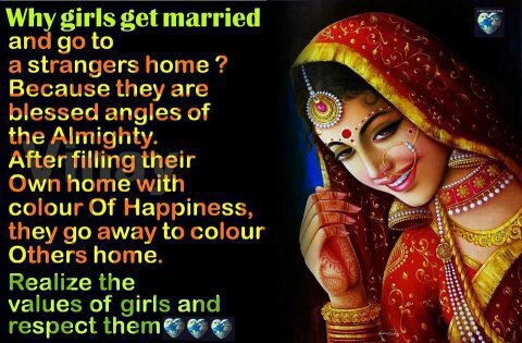 girl,daughter,marriage quotes, Respect women, Save girls, inspiring message