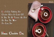Happy chocolate day,wishes,greetings,card,message,quotes