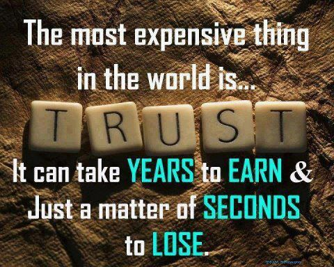 trust quote,thought