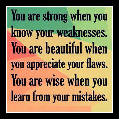 Wisdom Quotes , Pictures, Inspirational Quotes,  Learn from your mistakes, Strength Quotes