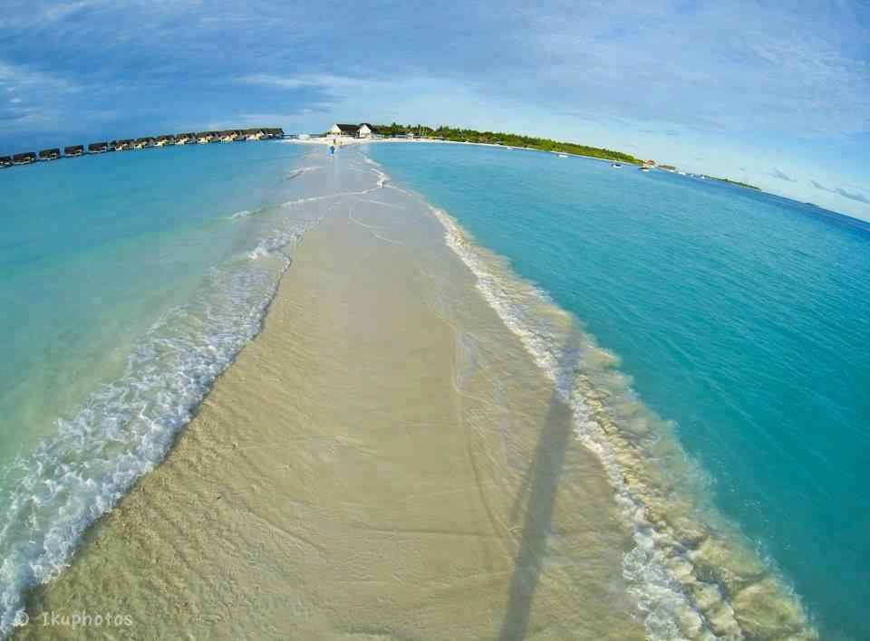Beautiful Places of the world to visit, Pictures,  Natural Walkways of Maldives