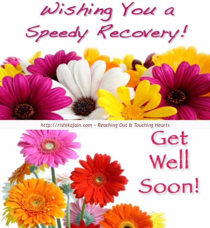 Wishing You a Speedy Recovery Get Well Soon