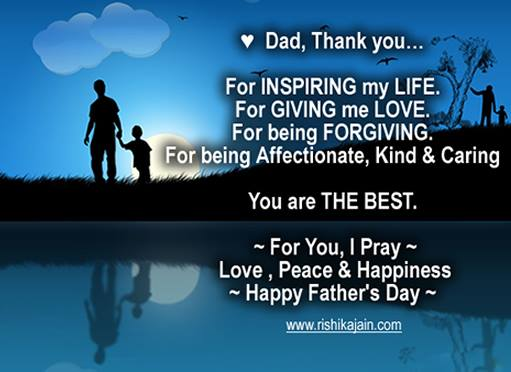 fathers day quotes and pictures inspirational