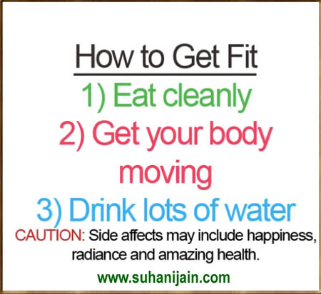health Tips ,How to Get Fit