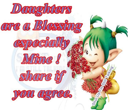 daughter, Inspirational Quotes, Motivational Thoughts and Pictures
