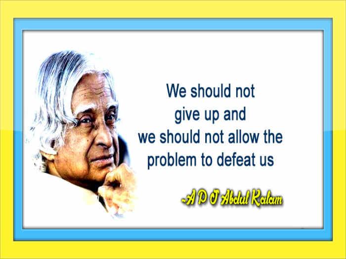 Dr Apj Abdul Kalam Quotes Inspirational Quotes Pictures