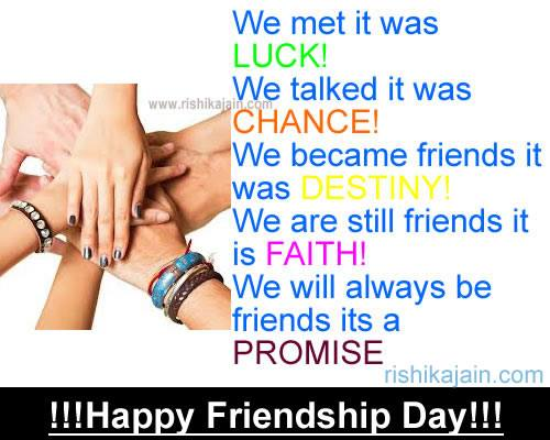 Friendship Day Wishes,cards,quotes,thoughts,greetings