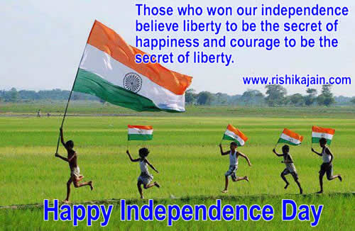 Independence Day Quotes - Inspirational Quotes, Motivational Thoughts and Pictures
