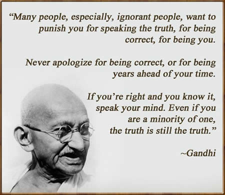 Mahatma Gandhi, Inspirational Quotes, Pictures and Motivational Thoughts