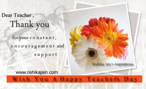 Teacher's day Inspirational Pictures, Quotes & Motivational Thoughts