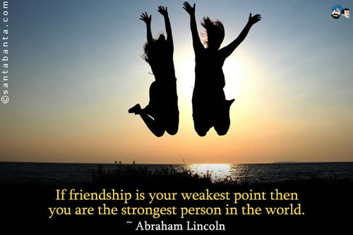 friend,friendship day quotes,cards,wishes,Abraham Lincoln