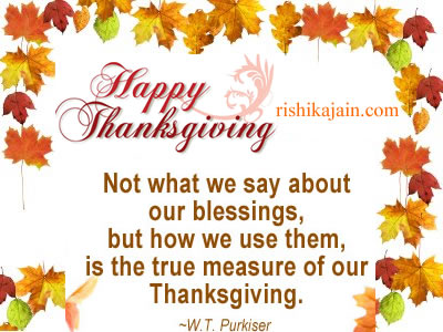 thanksgiving Inspirational Quotes, Pictures & Motivational Thoughts
