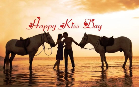 Happy Kiss day messages,quotes,greetings,sms