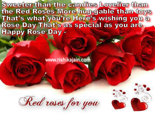 Happy Rose day;Quotes,Wishes,Sms