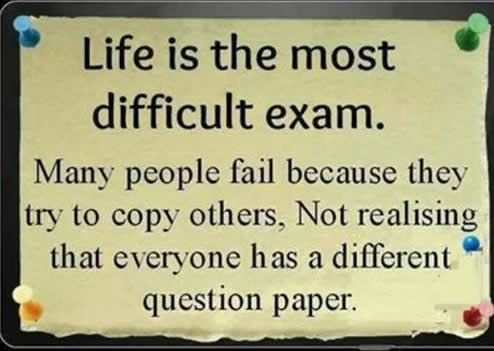 Life is the most difficult exam | Inspirational Quotes ...