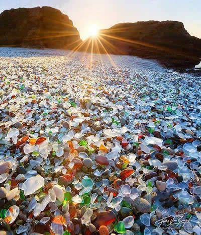 Sea Glass Beach, Fort Bragg, CA