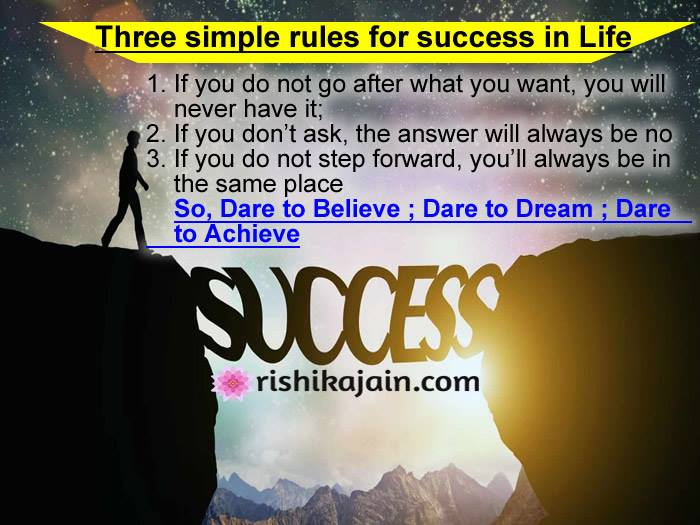 Good Morning Three Simple Rules Of Life For Success