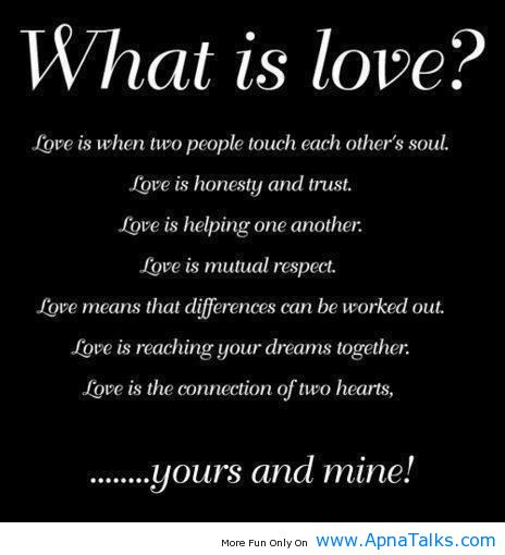 What Is Love Inspirational Quotes