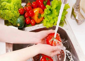 Wash your veggies and detox