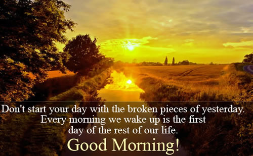 January 1 good morning quotes,thoughts,messages