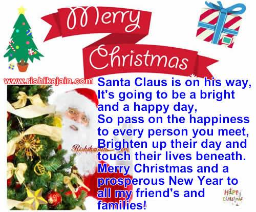 Merry Christmas and a prosperous New Year to all my friend\'s and ...