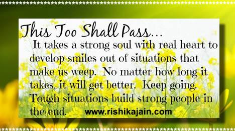 This too shall pass ....Encouragement quote | Inspirational ...