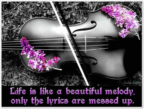 music,Life Inspirational Quotes, Motivational Thoughts and Pictures