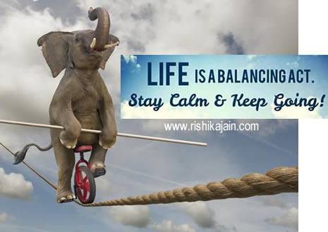 Quote For The DayLife Is A Balancing Act Daily Inspirations For Beauteous Quote Of The Day Life