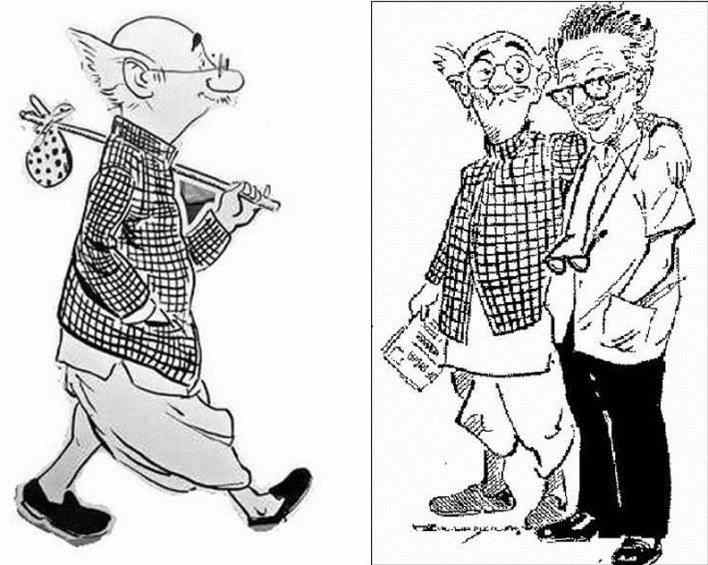 RK Laxman, Inspiration , Humor , Strength India's best known cartoonist