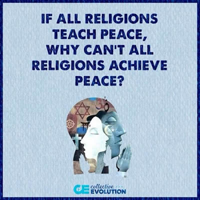 Religions,Peace - Inspirational Quotes, Motivational Quotes and Pictures