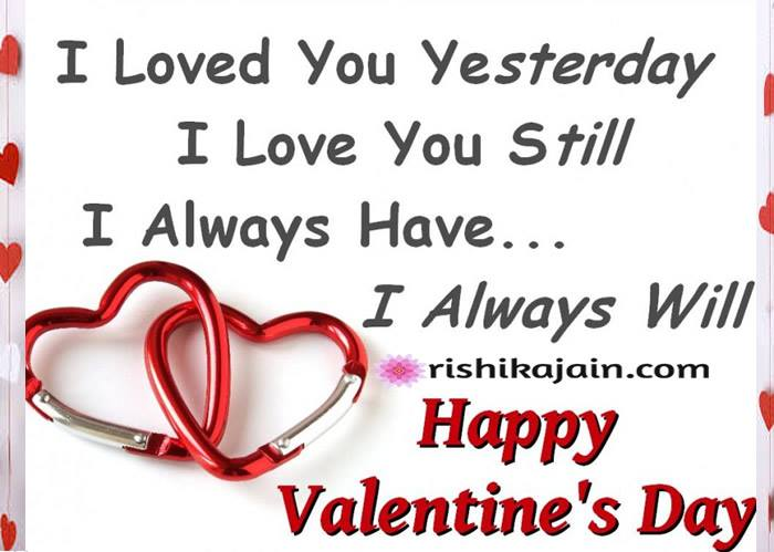 Happy Valentine\'s Day :Let me love you | Inspirational ...