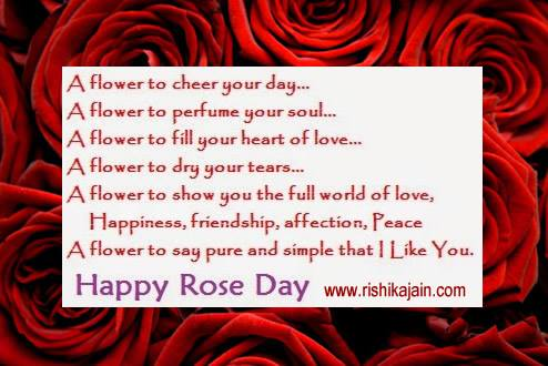 Rose Day Top 5 Messages,Quotes ,status